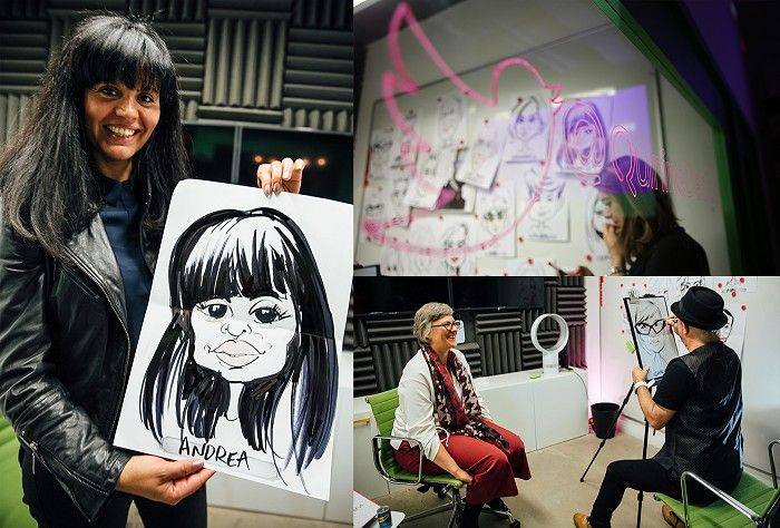 Fun-In-The-Green-Room-With-Live-Caricatures-W700